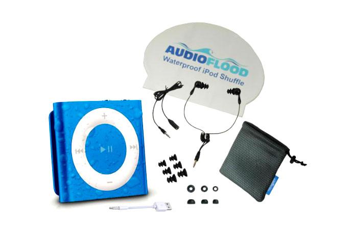The Audioflood Waterproof iPod Shuffle