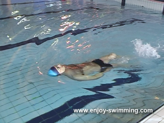 Backstroke Swimming Drills – Head-Lead Supine Balance