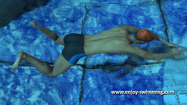 Breaststroke Kick - Outsweep