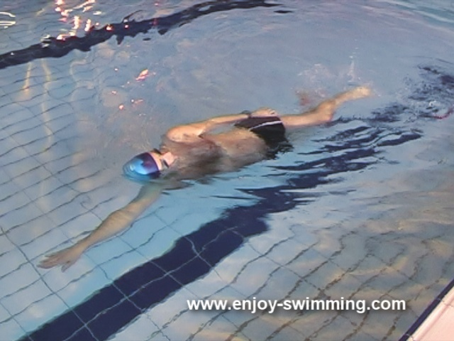 Front Crawl Swimming Drills – Hand-Lead Side Balance