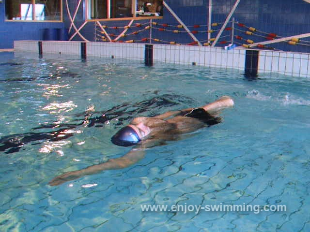 Swimming Freestyle – Slide on your Side Drill