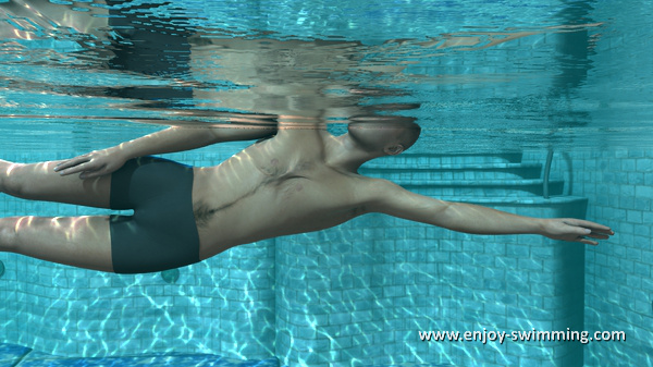 The Sidestroke - Arm Extension - End Position