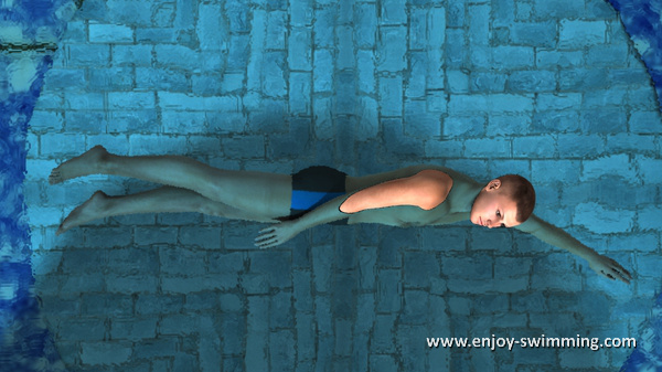 The Sidestroke - Leg Movements - Starting Position