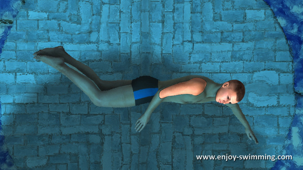 Side Stroke - Leg Flexion - Intermediary Position