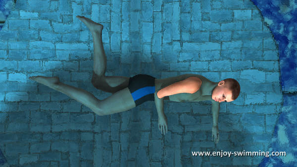 The Sidestroke - Leg Flexion - Intermediary Position