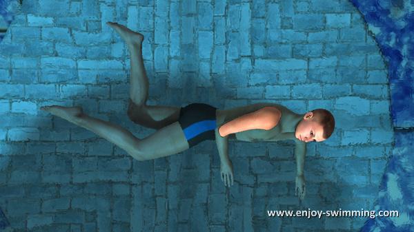 The Sidestroke - Leg Flexion - Intermediary Position